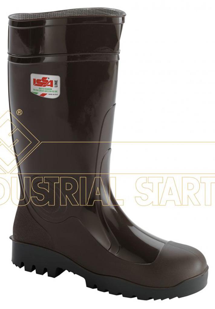 Stivali da lavoro gomma nitrilica per agricoltura ISSA LINE col.marrone  eBay