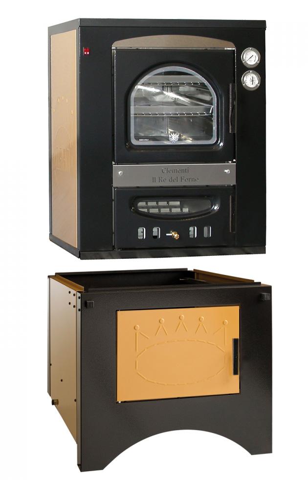 Forno a legna per interno kit carrello clementi smart da incasso ebay - Forno a legna interno ...