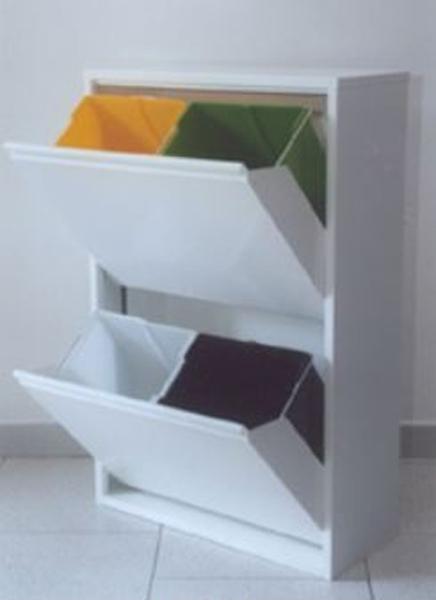 Armadio contenitori pattumiera raccolta differenziata 18 for Ikea raccolta differenziata