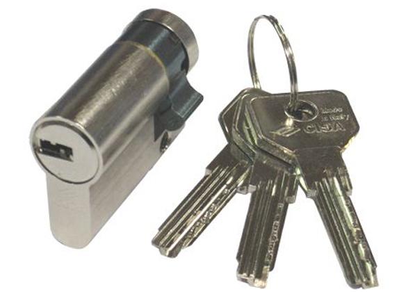 cilindro serratura cisa mezzo cilindro da infilare profilo