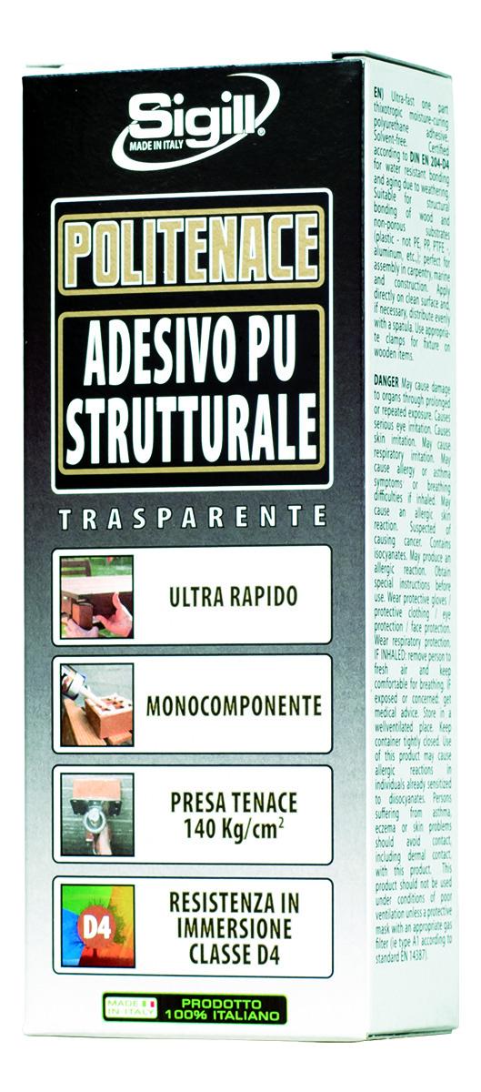 Colla mastice adesivo poliuretanico trasparente SIGILL Politenace ... ae8a848bfce